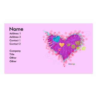 BUSINESS CARDS - HAPPY VALENTINES DAY
