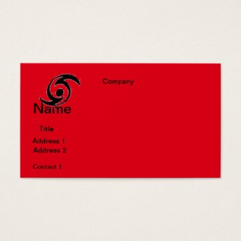 Business Cards  Huricane Design by CREATIVEforBUSINESS at Zazzle