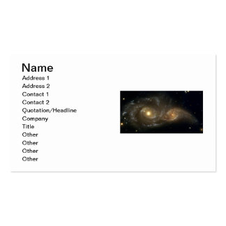 Business cards - Interacting galaxies