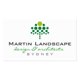 business cards > landscaper  [green : lime]