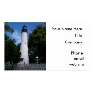 Business Cards, Lighthouse, Key West