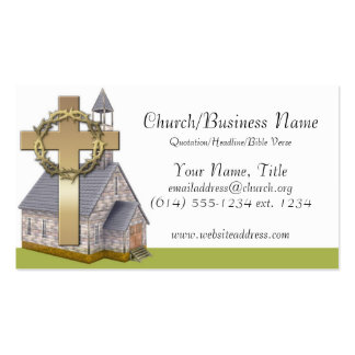 Business Cards: Little Church Double-Sided Standard Business Cards (Pack Of 100)