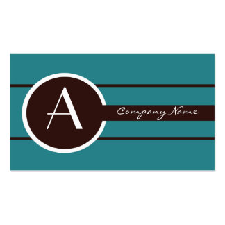 Business Cards Monogram