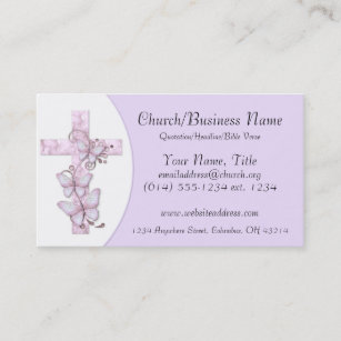 For Church Secretary Business Cards Zazzle