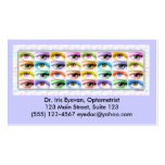 Business Cards - Pop Art Eyes, I