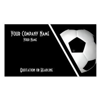 Business Cards Soccer / Football