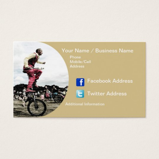 Business Cards - The Entertainer