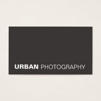 business cards > urban photography  [charcoal]