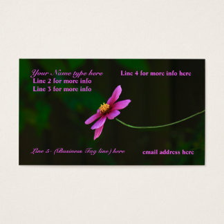 Business Cards: w/a touch of Nature Business Card