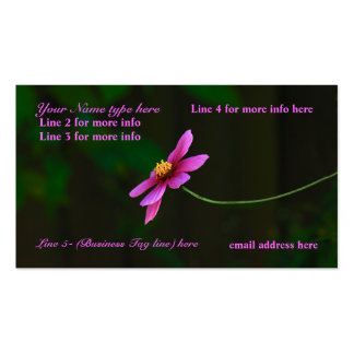 Business Cards: w/a touch of Nature Double-Sided Standard Business Cards (Pack Of 100)