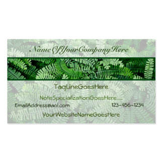 Business Cards with a Nature theme