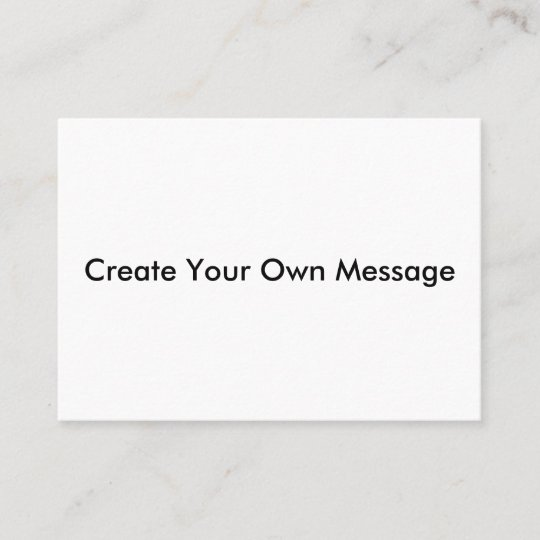 business cards with professional font  zazzle