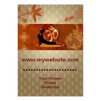 Business Cards Yoga Meditation Pilates Coaching