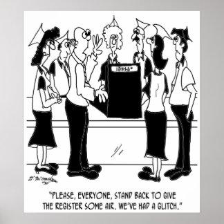 Business Cartoon 8453 Poster