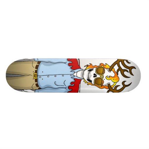 Business Casual Skate Devil Death Boy Skateboard
