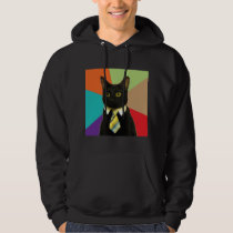 Business Cat Advice Animal Meme Hoodie