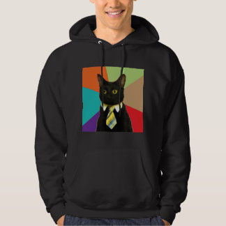 Business Cat Advice Animal Meme Sweatshirt
