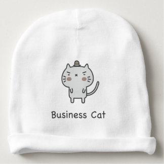 Business Cat Baby Beanie
