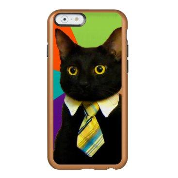 Professional Business business cat - black cat incipio feather shine iPhone 6 case