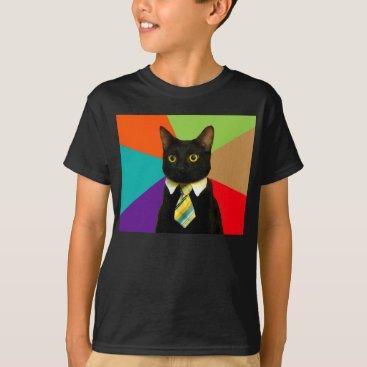 Professional Business business cat - black cat T-Shirt