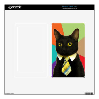 Business Cat Kindle Fire Skin