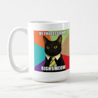 Business Cat Mug