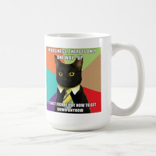 Business Cat Mug