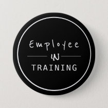 Business Centered  Employee in Training Button