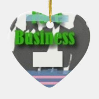 Business Ceramic Ornament