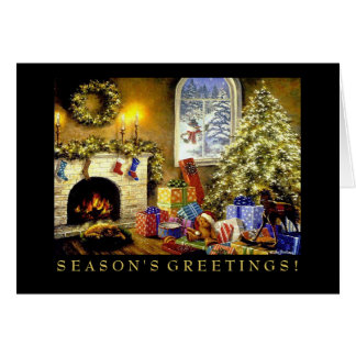 Business Christmas Card Holiday Tree
