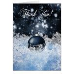 Business Christmas Thank You Card - Seasons' Greet