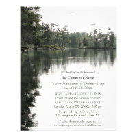 Business Church Rustic Weekend Family Retreat Flyer