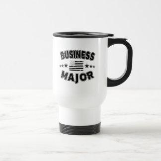 Business College Major Patriotic American Flag Travel Mug