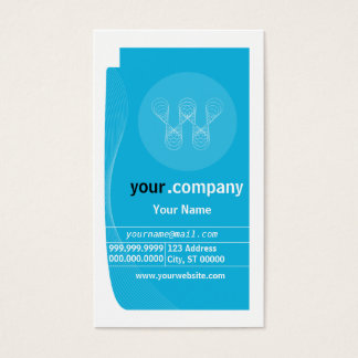 Business Company Profile Card