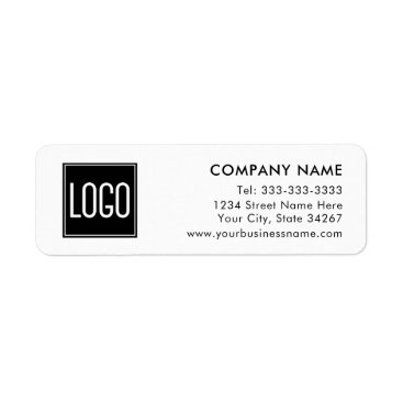 Professional Business Business Company Return Address | Your Logo Here Label