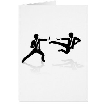 Professional Business Business Competition Concept People Fighting Card