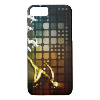 Business Competition with a Winning Leader Skill iPhone 7 Case