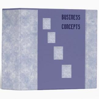 Business Concepts Binder