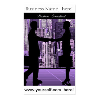 Business Consultant business card