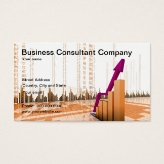 Business Consultant Company Business Card