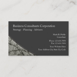 Strategy consultants business cards templates zazzle business consulting business cards colourmoves