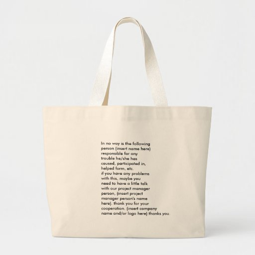 business convention handout bag - Customized