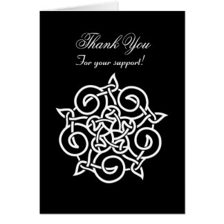 Business / Corporate Thank You - Celtic Knot Card