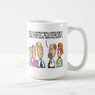 business credibility coffee mug