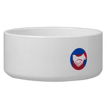 Professional Business Business Deal Handshake Circle Retro Bowl