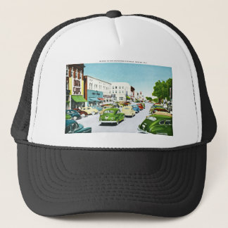 Business District, Shelby, North Carolina Trucker Hat