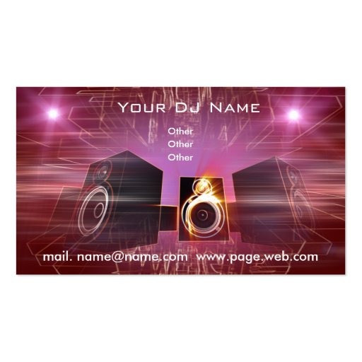 Dj business cards templates free 28 images dj business cards dj business cards templates free business dj sided standard business cards pack of reheart Choice Image