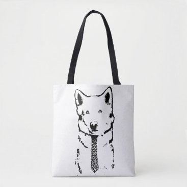 Professional Business Business Dog Means Business Tote Bag