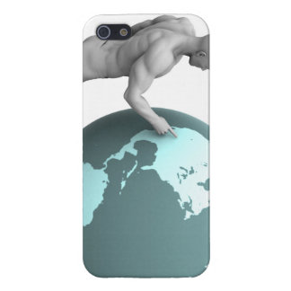 Business Expansion into North America Continent Cover For iPhone SE/5/5s