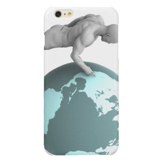 Business Expansion into North America Continent Glossy iPhone 6 Plus Case